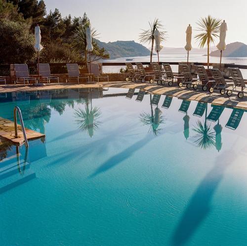 The swimming pool at or near Il Pellicano