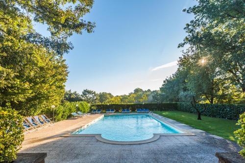 The swimming pool at or near La Locanda Della Chiocciola