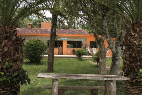 A garden outside Ecolodge & Villas Tziscao: Lagos de Montebello - Tziscao