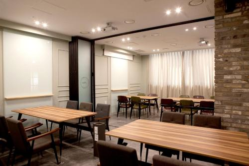 A restaurant or other place to eat at Days Hotel by Wyndham Dongtan