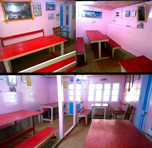 A restaurant or other place to eat at Youth Hostel Sirikhola
