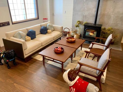 Area soggiorno di Residence Yasushi