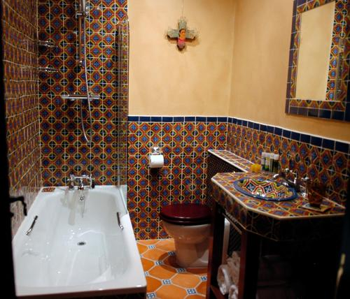 A bathroom at Church Street Hotel