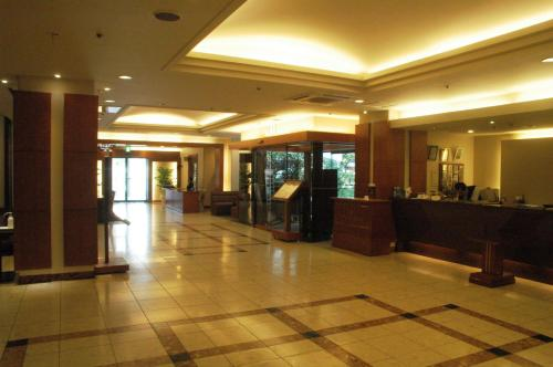 The lobby or reception area at Hotel Sun Okinawa