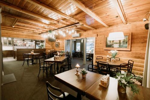 A restaurant or other place to eat at Guest House Mazais Ansis