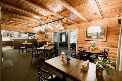 Restorāns vai citas vietas, kur ieturēt maltīti, naktsmītnē Guest House Mazais Ansis