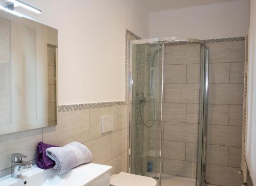 A bathroom at Ca San Luca