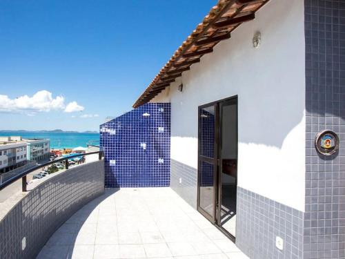 Uma varanda ou terraço em Cobertura Duplex na Prainha em Arraial do Cabo