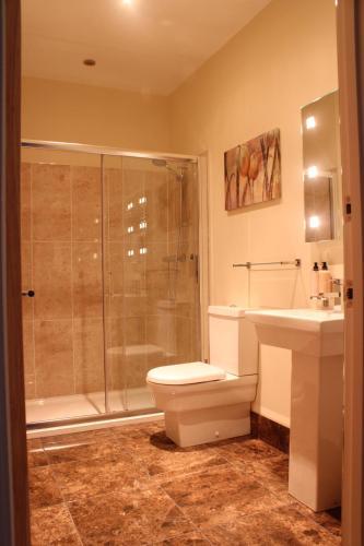 A bathroom at The Keep