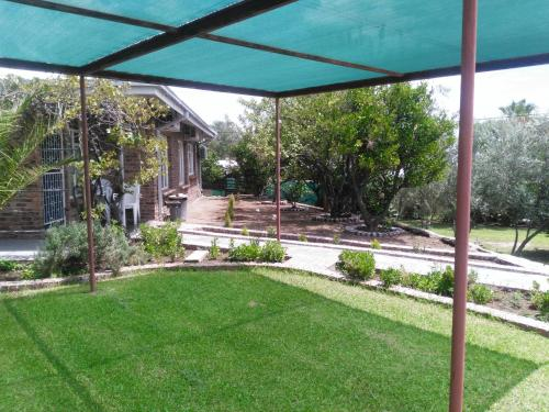 A garden outside SunRose Group of Guesthouses
