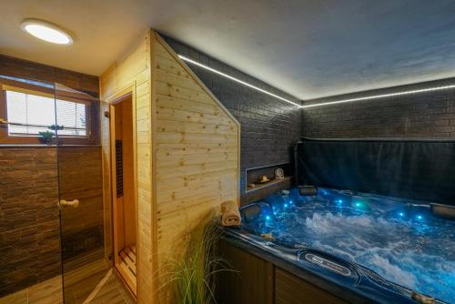 Spa and/or other wellness facilities at Penzion Sagan