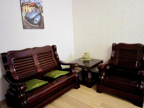 Гостиная зона в 2-room apartment by the sea on Mosina 8