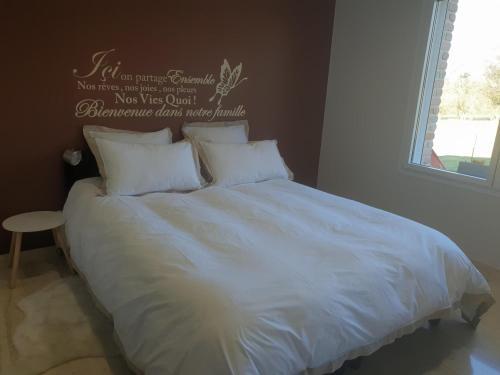 Un ou plusieurs lits dans un hébergement de l'établissement La Bulle d'eau