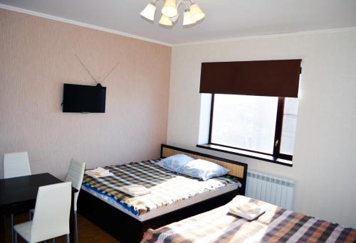 Кровать или кровати в номере Rio Guest House