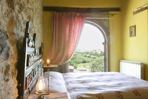 Letto o letti in una camera di Il Giardino Degli Ulivi