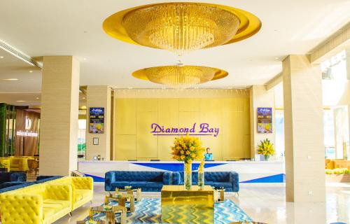 Лобби или стойка регистрации в Diamond Bay Hotel