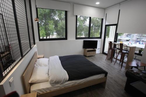Postelja oz. postelje v sobi nastanitve G.R City Heart