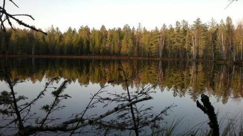 A view of a lake near the inn