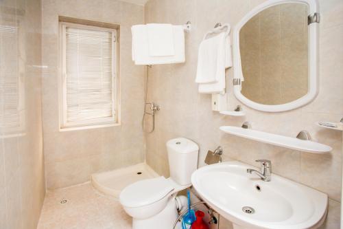 Ванная комната в AZPETROL HOTEL BALAKEN