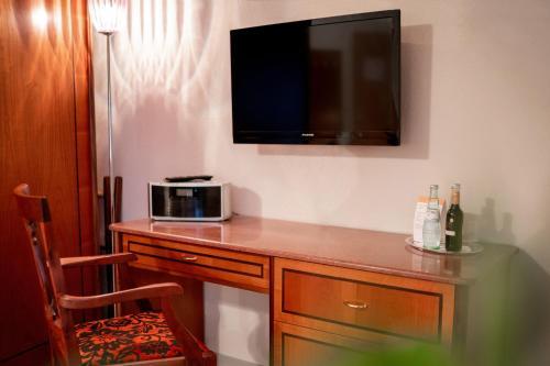 TV/Unterhaltungsangebot in der Unterkunft Aparthaus
