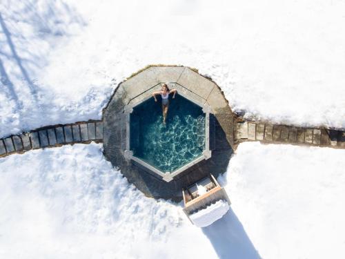 Vista aerea di QC Terme Grand Hotel Bagni Nuovi