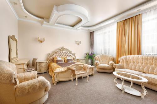 Гостиная зона в Гостиница Версаль