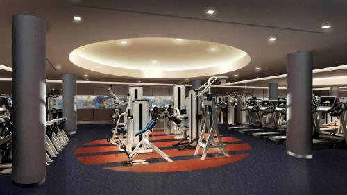 Gimnasio o instalaciones de fitness de Courtyard New York Manhattan/Midtown West