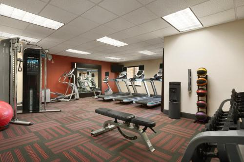 The fitness center and/or fitness facilities at Hampton Inn & Suites Phoenix Glendale-Westgate