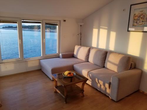 A seating area at Villa Malo Misto