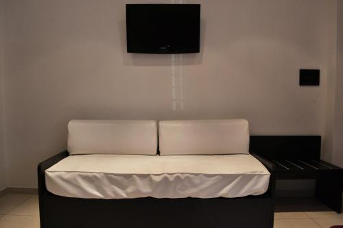 A bed or beds in a room at Casa Canale