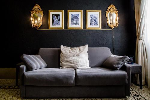 Zona de estar de Acacia Apartments Agave-Aloe-Adenia