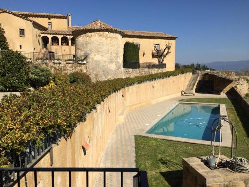 Una vista de la pileta en Montserrat La Calsina o alrededores
