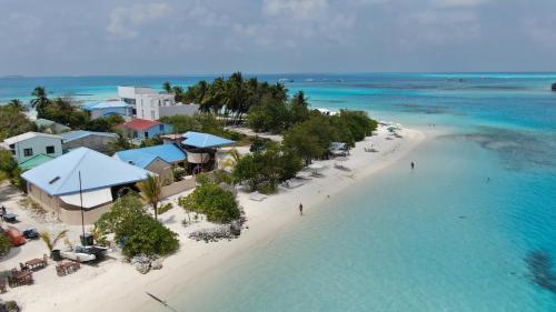 Bibee Maldives a vista de pájaro