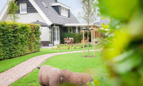 Een tuin van Logement 't Voorhuysch