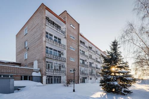 Apartment House during the winter
