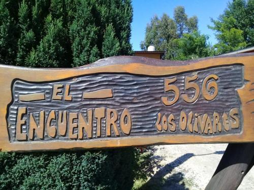 El logo o cartelera of the country house