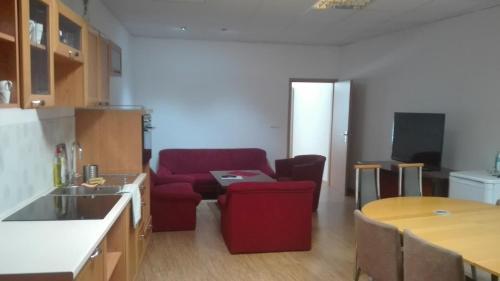 Гостиная зона в Apartman Mickiewiczova 14