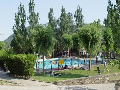 Children's play area at Centro de Vacaciones Morillo de Tou