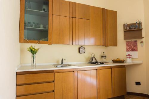Cucina o angolo cottura di B&B Ulisse