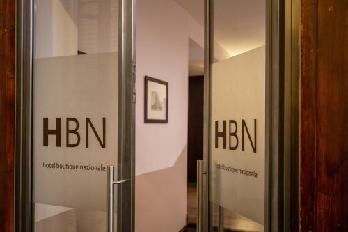 Um certificado, prémio, placa ou documento mostrado em Hotel Boutique Nazionale