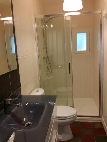 A bathroom at Au gite Dolois
