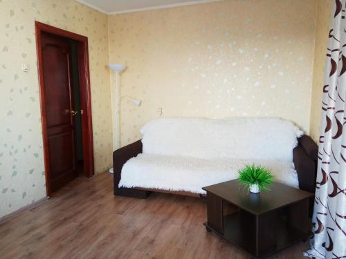 Гостиная зона в Apartment on Lenina 128