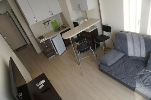 Гостиная зона в Apartments Canyon-2