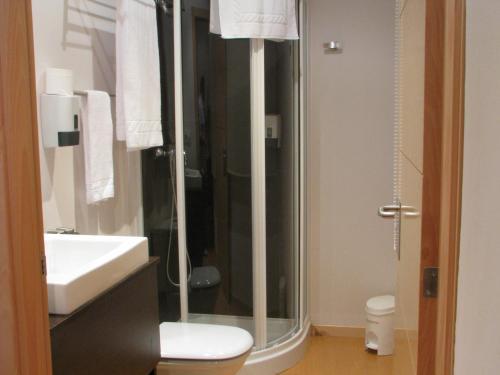 Un baño de Hotel Elizalde