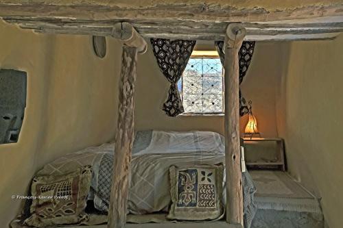 Un ou plusieurs lits dans un hébergement de l'établissement Les Terrasses de l'Atlas