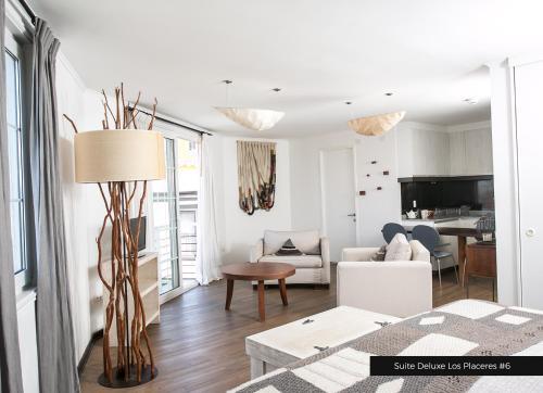 Zona de estar de Casa Galos Hotel & Lofts