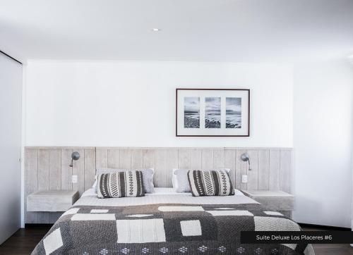 Cama o camas de una habitación en Casa Galos Hotel & Lofts