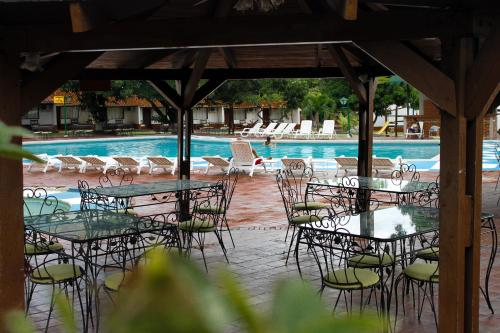 The swimming pool at or near Hotel Faranda Bolívar Cúcuta