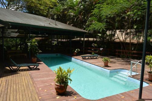 The swimming pool at or near Colo-I-Suva Rainforest Eco Resort