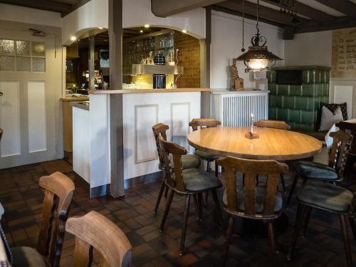 Lounge oder Bar in der Unterkunft Hotel-Gasthof Weisses Ross